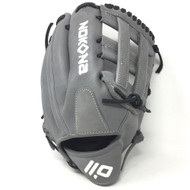 Nokona American KIP Gray with Black Laces 12 Baseball Glove H Web Right Hand Throw