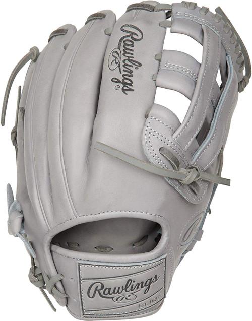 Rawlings Pro Label Grey Baseball Glove 12.25 Right Hand Throw