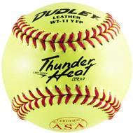 Dudley Thunder 11 inch ASA Softballs 1 Doz