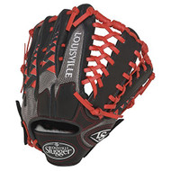 Louisville Slugger HD9 12.75 inch Baseball Glove (Scarlet, Left Hand Throw)