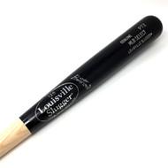 Louisville Slugger P72 MLB Select Ash Black Wood Baseball Bat (33.5 inch)