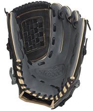 Louisville Slugger 125 Series Gray 12 inch Baseball Glove (Left Handed Throw)