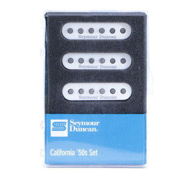 Seymour Duncan SSL-1 California '50s SSS Stratocaster Pickup Set White