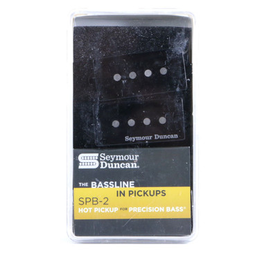 Seymour Duncan SPB-2 Hot For P-Bass Pickup Set Black