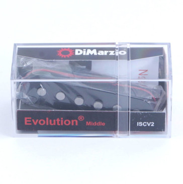 NEW DiMarzio ISCV2 Evolution Steve Vai Middle Single Coil Guitar Pickup Black