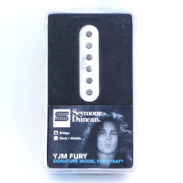 Seymour Duncan STK-S10B YJM Strat Single Coil Bridge Guitar Pickup White