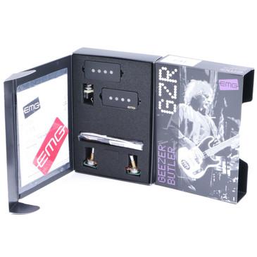 EMG EMG-GZR-PHZ Geezer Butler P-Bass Passive Pickup Set Black