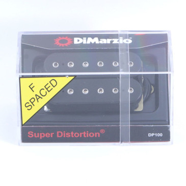 Dimarzio DP100 Super Distortion F-Spaced Humbucker Guitar Pickup Black