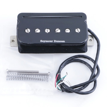 Open Box Seymour Duncan SHPR-1B P-Rails Humbucker Bridge Guitar Pickup Black