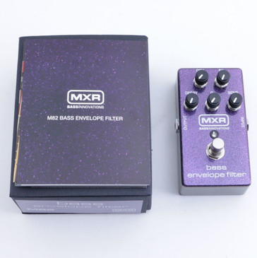 NEW MXR M82 Bass Envelope Filter Bass Guitar Effects Pedal