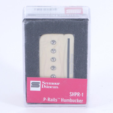 Seymour Duncan SHPR-1N P-Rails Neck Humbucker Guitar Pickup Cream