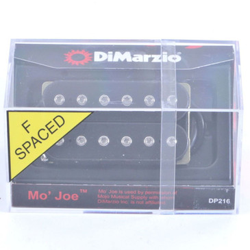 NEW! DiMarzio DP216 Mo' Joe Bridge Humbucker Pickup Black F-Spaced Joe Satriani