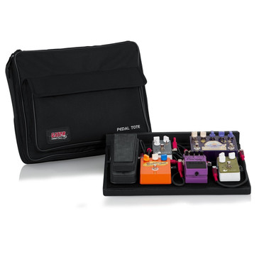 NEW! GatorGPT-PWR Powered Pedal Tote Pedal Board with Carry BagBlack
