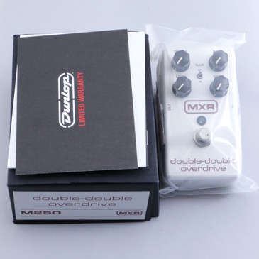 NEW! MXR M250 Double-Double Overdrive Guitar Effects Pedal