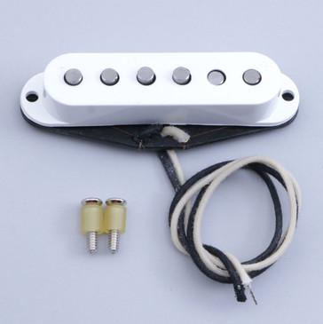 Open Box Fender Custom '54 Stratocaster Single Coil Bridge Guitar Pickup White