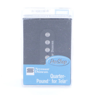 Seymour Duncan STL-3 Quarter Pound Tele Bridge Guitar Pickup Black
