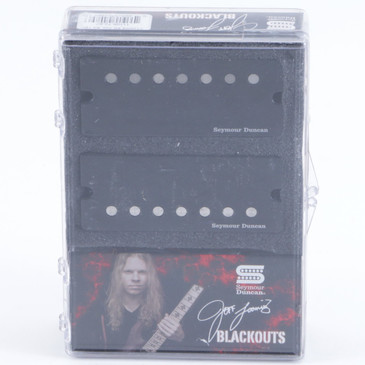 Seymour Duncan Jeff Loomis Blackout 7-String Set Pickups with Active Mount Black