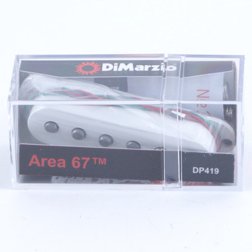 Dimarzio DP419 Paul Gilbert Area 67 Middle Stratocaster Guitar Pickup White