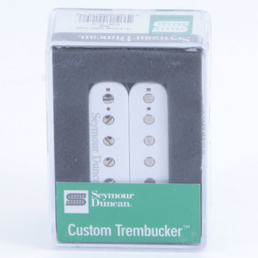 Seymour Duncan TB-5 Duncan Custom Trembucker Bridge Guitar Pickup White