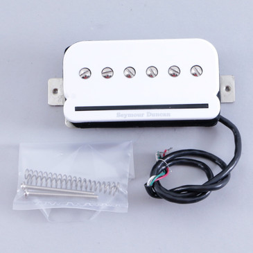 Open Box Seymour Duncan SHPR-1N P-Rails Neck Humbucker Guitar Pickup White