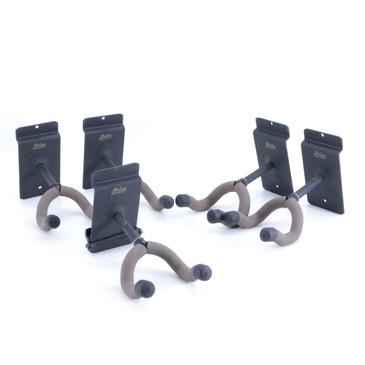 "(5) String Swing (5) 2 1/2"" Stem Guitar Slat Wall Hangers OS-8097"