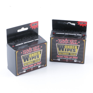 Ernie Ball Wonder Wipes Instrument Polish OS-7777