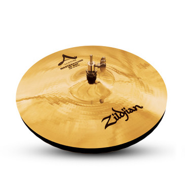 "Zildjian 14"" A Custom Mastersound Hi-Hat Pair Brilliant Finish"