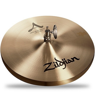 "Zildjian 12"" New Beat Hi-Hat Pair Traditional Finish"