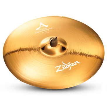 "Zildjian 21"" A Custom 20th Anniversary Ride Brilliant Finish"