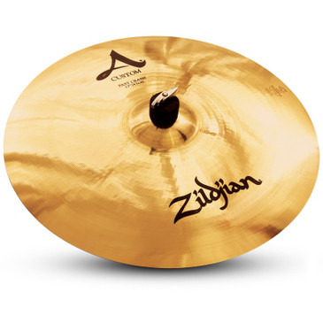 "Zildjian 17"" A Custom Fast Crash Brilliant Finish"