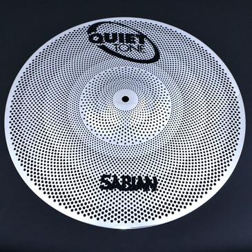 "Sabian 16"" Quiet Tone Crash Practice Cymbal"