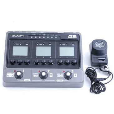 Zoom G3 Guitar Multi-Effects Pedal & Power Supply P-06812