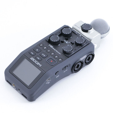 Zoom H6 Handy Recorder w/ MSH-6 Microphone
