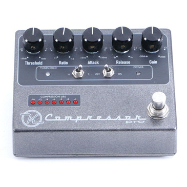 Keeley Compressor Pro Compression Guitar Effects Pedal P-06923