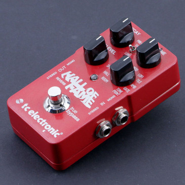 TC Electronic Hall Of Fame Reverb Guitar Effects Pedal P-06996