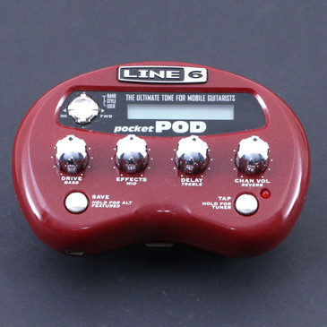 Line 6 Pocket Pod Guitar Multi-Effects Processor P-07011