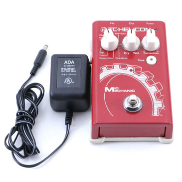 TC Helicon Mic Mechanic Vocal Effects Pedal P-07008