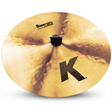 """Zildjian 16"""" K Dark Crash Cymbal"""