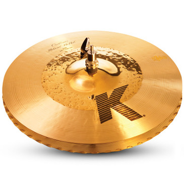 "Zildjian 14 1/4"" K Custom Hybrid Hi-Hat Cymbal Pair"