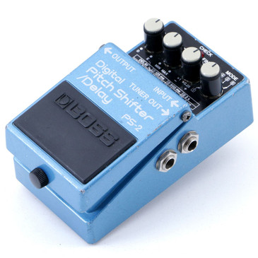Boss Japan PS-2 Digital Pitch Shifter / Delay Guitar Effects Pedal P-07020