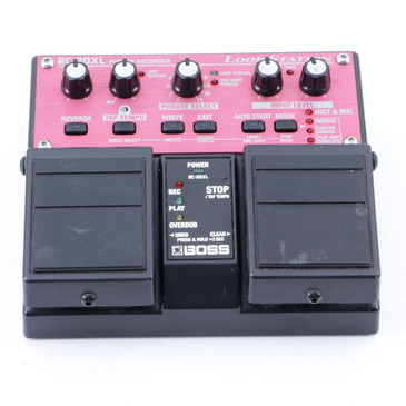 Boss RC-20XL Phrase Recorder Looper Guitar Effects Pedal P-07030