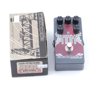 Catalinbread RAH Royal Albert Hall Overdrive Guitar Effects Pedal w/ Box P-07028