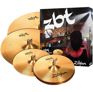 "Zildjian ZBT Pro Cymbal Set with Free 14"" ZBT Crash"