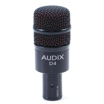 Audix D4 Dynamic HyperCardioid Microphone MC-3125