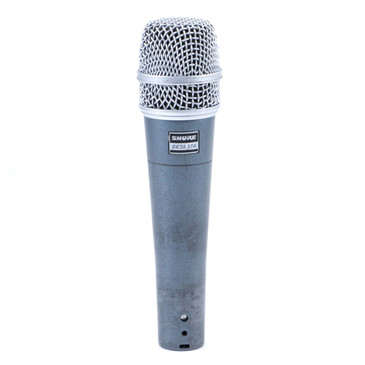 Shure Beta 57A Dynamic SuperCardioid Microphone MC-3118