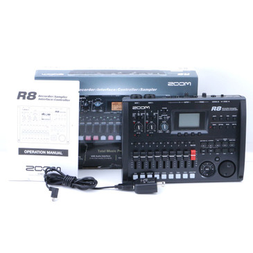 Zoom R8 Recorder: Sampler: Interface: Controller P-07084