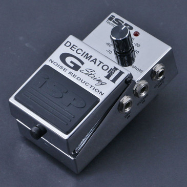 ISP Decimator II G-String Noise Gate Guitar Effects Pedal P-07118