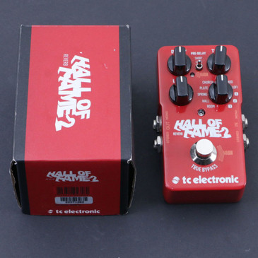 TC Electronic Hall Of Fame 2 Reverb Guitar Effects Pedal P-07115
