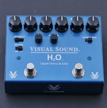 Visual Sound H2O V3 Chorus / Echo Guitar Effects Pedal P-07113