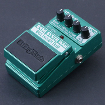 Digitech Bass Synth Wah Envelope Filter Guitar Effects Pedal P-07143